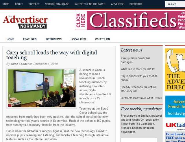 caen-school-leads-the-way-with-digital-teaching